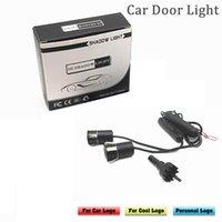 PFTKJCP 2pcs LED 자동차 문 환영 레이저 프로젝터 유령 그림자 빛 자동차 대부분의 자동차 대부분