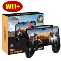 W11 + PUBG 모바일 게임 패드 컨트롤러 PUBG 무선 조이스틱 게임 슈터 컨트롤러 아이폰 안드로이드 삼성 전화 번호