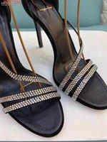 여성 가죽 여성의 신발 트위스트 직조 함께 하이 엔드 분위기 고품질 물 드릴 에지 디자인 장식