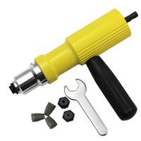 Elektrische Nietmutternpistole Nietwerkzeug Akku-Nietbohradapter Einsatzmutter Werkzeug Nietbohradapter 2.4mm-4.8mm