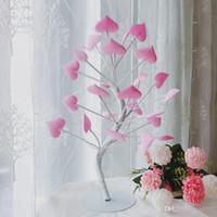 LED-Liebe Farben-Licht-Teenager-Mädchen-Herz-Raumdekoration kleine Tischlampe Geschenk Romantische Schlafzimmer-Dekor Rosa Kreative 34xbC1
