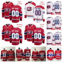 Personalizzato Montreal Canadien Jordie Benn Victor Mete Phillip Danault Paul Byron Byron Qualsiasi nome qualsiasi numero Mens Donne Gioventù cucito Hockey Jersey