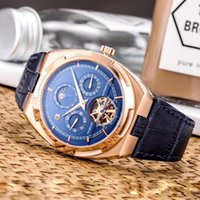 High Quality Luxury Mens Watches Tourbillon Skeleton Automat...