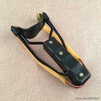 강력한 새총 Professional은 손목 지원 라텍스 밴드 야외 사냥 스틸 슬링 샷 어린이 장난감 투석기와 새총