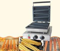 Machine croquante de pin de machine de gaufre d'arbre de Noël des fabricants de gaufres électriques de 4 PCS Lolly 220V / 110V