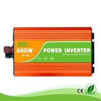 600W 24분의 12 / 48V 그리드 인버터 오프 110분의 100 / 120 / 230분의 220 / 240VAC 50 / 60Hz의 재택 높은 주파수 이용 순수한 사인파에