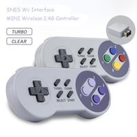 Беспроводной геймпад 2,4 ГГц джойстик для NES / SNES Super Nintendo Classic PC Android Raspberry Wireless USB Controller
