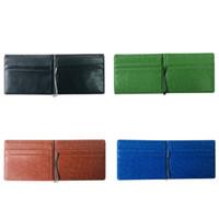 Bifold Money Clip Men Vintage Pu Leather Mens Short Wallets Business Front Pocket Slim Purse Portable Zipper Purses Male