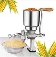شحن مجاني بالجملة حار مبيعات الذرة القمح طاحونة كبيرة هوبر الحبوب طاحونة دليل المنزل التجاري