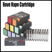 Newest Rove Vape Cartridge 0. 8ml 1. 0ml Ceramic Coil 510 Thre...