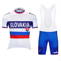 2019 New SLOVAKIA cycling jersey set short Sleeves road bike...