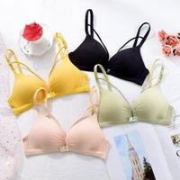 Dünner Riemen Bralette Sexy Dessous Nahtlose Aushöhlen Weiche BHs Für Frauen Wireless Push Up BH Komfortable Unterwäsche