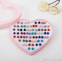 36 pares das mulheres brincos Shambhala Brincos De Cristal coreano brincos de broca de moda frete grátis