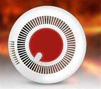 صوت مستقل وتألق ضوء كاشف الدخان الأمن الرئيسية إنذار الاستشعار