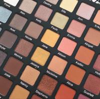 Prezzo all'ingrosso!! Hot marca viola Voss giro 42 colori ombretto a lunga durata Eye Shadow di alta qualità con trasporto libero