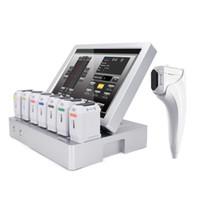 11 خطوط آلة HIFU 3D مع 8 خراطيش عالية الكثافة التركيز بالموجات فوق الصوتية تشديد الوجه رفع التجاعيد جهاز علاج جهاز العلاج
