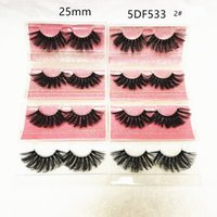 5D 25MM 3d mink Longer Thick false eyelashes extended versio...