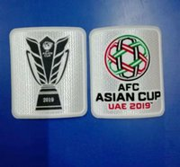 2019 AFC ASIAN CUP Patch Velvet Patch Soccer Patch Badge