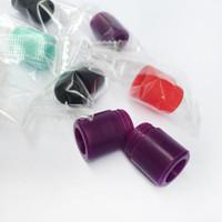 Alta Qualidade colorido descartáveis Silicone Gel Drip Tip Silicone 810 Bocal largo Bore E Cigarette Fit TFV Atomizador