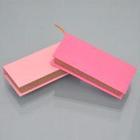10 / paquet Cils gros Emballage Boîte Lash Boîtes d'emballage personnalisé Faux cils Mink Strips vide roses vendeurs en vrac de cas