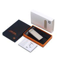다채로운 아연 합금 USB주기 충전 ARC 라이터 전기 수량 표시 담배 흡연 파이프에 대 한 휴대용 혁신적인 디자인