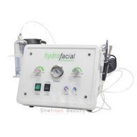 3 в 1 Портативный HydraFacial машина Hydro Алмазная микродермабразия машины красоты Кислород Jet Peel Skin Care SPA салон оборудование