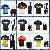 مبيعات المصنع مباشرة سكوت مايوه ciclismo camisa HOMBRE الدراجات قصيرة الأكمام والسراويل جيرسي مريلة يحدد الأعلى العلامة التجارية 60324