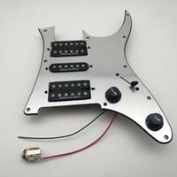 مرآة الغيتار بيك اب pickguard usa الأصلي 3 قطع hsh التقاطات RG2550 الغيتار الكهربائي بيك اب 1 مجموعة