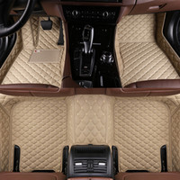 Tapete Car ajuste personalizado Chevrolet Spark Cruze Malibu sónico Trax Sail captivaEquinox epica à prova de água chão auto tapetes de carro styling