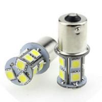 4Pcs BA15S 1156 1157 BAY15D 5050 13SMD Voiture Auto LED Voiture Signal Signal Feu Arrière Lampe Ampoule Arrière de voiture Signal Lumière