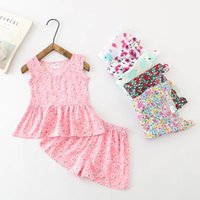 Baby Girl Clothing 2PCS Set Artificial Cotton Clothing Summe...