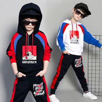 Hip- hop High quality 2019 Hoodies+ pants children set kid sui...