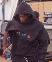 Rapper Travis Scott Astroworld Coat Factory Designer Hip Hop Hoodies Casual Hooded Sweatshirts Male Printed High Street Pullover Top Quality