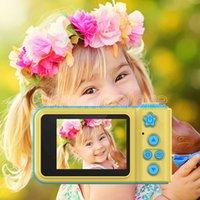 K7 الاطفال كاميرا صغيرة الكاميرات الرقمية لطيف الكرتون كاميرا 1080P طفل لعب الأطفال هدية عيد ميلاد شاشة كاميرا كبيرة من الصور من السهل اتخاذ رخيصة