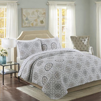 Jacquard Handgemachte Patchwork Quilt Set 3pcs Wash Cotton Klimaanlage Quilts Bedspread Bedcover Bettlaken King Size Coverlet Set