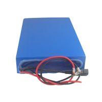 Ücretsiz kargo su geçirmez 72 V 20AH 3000 W li ion piller paketi 1500 w / 2000 w / 3000 w motor + 50A BMS + 2A Şarj