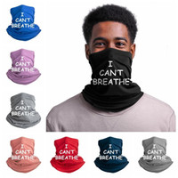 Eu não posso respirar Sunscreen Chapelaria Cachecol de Verão ao ar livre equitação máscara que eu não posso respirar Partido Poeira Anti face Scarf máscaras RRA3121