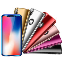360 Electroplated Cell Phone Full Cover Cases For iPhone XS ...