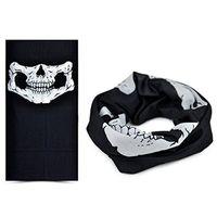 Hot Festive Halloween Spaventoso Mask festival cranio Maschere scheletro del motociclo giardino Bicicletta Multi maschere Sciarpa Maschera di protezione mezza RRA3104