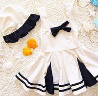 Dollplus der neuen Kinder-Badeanzug-Baby-Badebekleidung für Mädchen-Kind-Bikini-Kleid-Strand-Body Kleinkind-Mädchen Baden Badeanzug