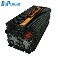 Freeshipping Alta eficiência 12v a 220v inversor puro Sine Wave Converter DC para AC 2500w / 5000w (Peak)