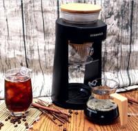 NOVO Rotary Chá Simulado Mão-perfurado automática café MachineTeapot automáticas de café máquina para Espresso Latte Cappuccino