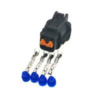 4pin 2.2mm двигатель спрей женского автомобиля воды пробка, 4P кислородного разъем датчика зажигания для Nissan Teana, Новой