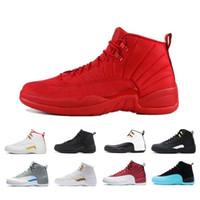 University Gold 12 Game Royal 12s mens basketball shoes Winterize bulls FIBA Gym Red Flu Game the master taxi men Sports trainer sneakers