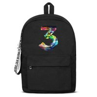 Classic Chance the rapper Color number 3 Canvas Bookbag Basi...