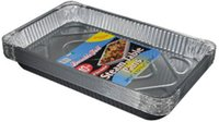 Aluminum Deep Foil Pan Safe for Use in Roast fish baked rice...