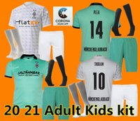 S XXL Adult kids2020 2021 Borussia Monchengladbach maillots de football à domicile 20 21 # 10 # 11 risque RAFFAEL # 13 # 14 Stindl chemises de football PLAIDOYER ma