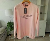 Balma Hoodies Mens Designer Sweat À Capuche Rue Hip Hop Haute Qualité Loose Fit Femmes De Luxe Sweat À Capuche Hommes Designer Chandails