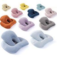 Memory-Foam-Schlafkissen Büro aushöhlen Nap Kissen PP Cotton Kissen im Freien Spielraum Tragbare Schaum Particle Filling Kissen YP382