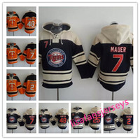 Mens Baseball Hoodies 7 Joe Mauer 48 Hunter 2 Brian Dozier 25 Byron Buxton alle genähten Herren Designer Hoodies Winter Jerseys Sweatshirt